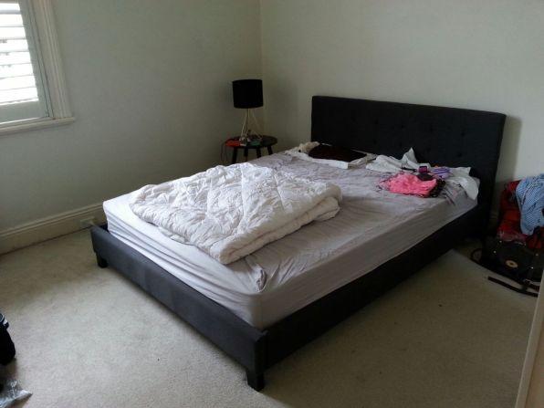 Unser Schlafzimmer.