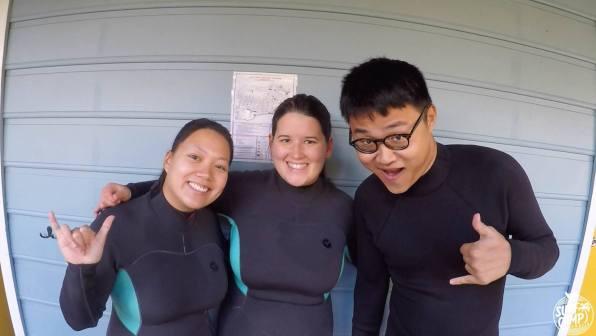 Linh, Tanja, Kai